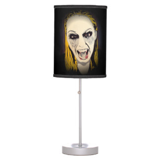 'Vampyre Shock' on a table lamp