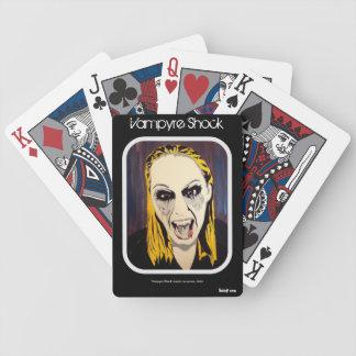 'Vampyre Shock' (vampire) Playing Cards