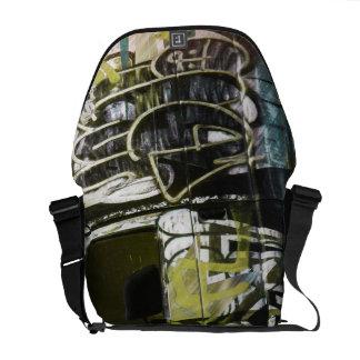 Van A roid - SanFrancisco Graffiti truck Messenger Bag