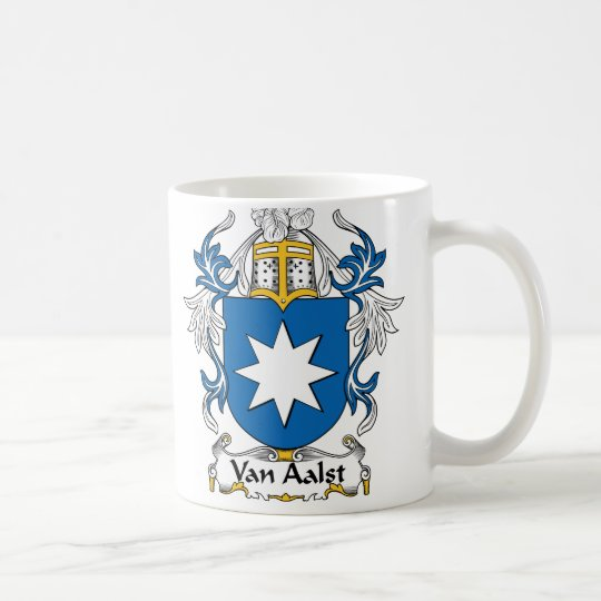 Van Aalst Family Crest Coffee Mug
