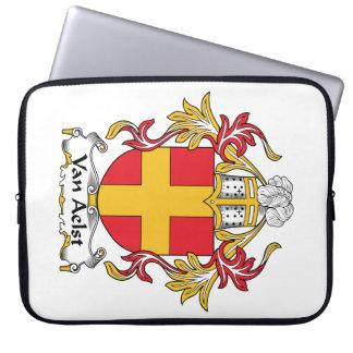 Van Aelst Family Crest Laptop Sleeve