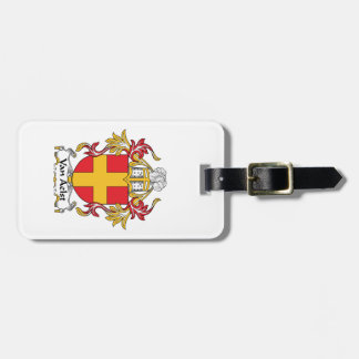 Van Aelst Family Crest Tag For Luggage