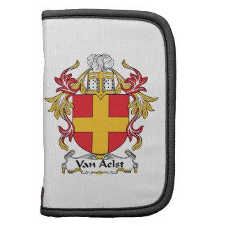 Van Aelst Family Crest Planners