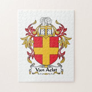 Van Aelst Family Crest Jigsaw Puzzle