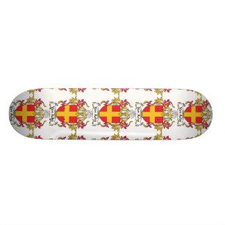 Van Aelst Family Crest Skateboard