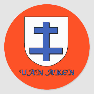 Van Aken Family Shield Sticker