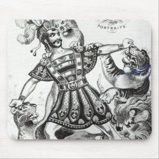 Van Amburgh the Brute Tamer, 1838 Mouse Pad
