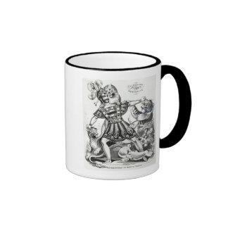 Van Amburgh the Brute Tamer, 1838 Ringer Mug