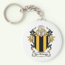 Van Ameyde Family Crest Keychain