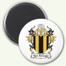 Van Ameyde Family Crest Magnet