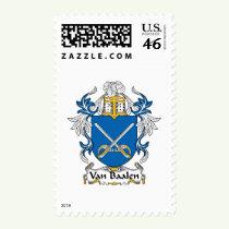 Van Baalen Family Crest Stamps
