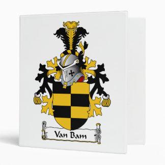 Van Bam Family Crest Binders