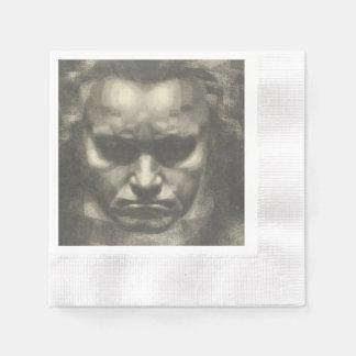 Van Beethoven portrait Paper Napkin