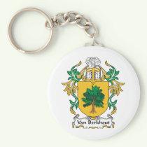 Van Berkhout Family Crest Keychain