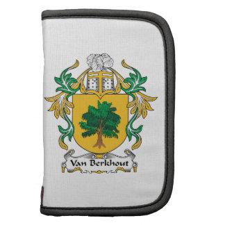 Van Berkhout Family Crest Folio Planner