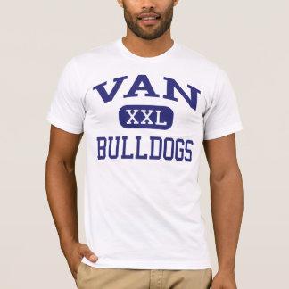 Van - Bulldogs - High School - Van West Virginia T-Shirt