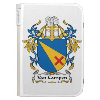 Van Campen Family Crest Kindle Keyboard Covers