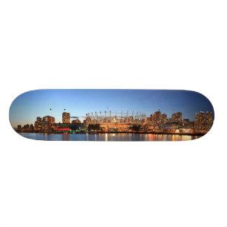van city panorama skateboard
