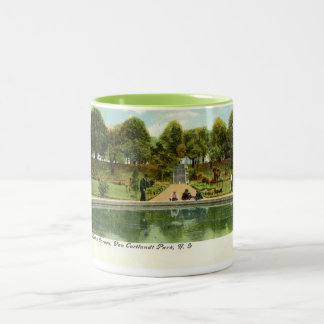 Van Cortlandt Park, New York Vintage Two-Tone Coffee Mug