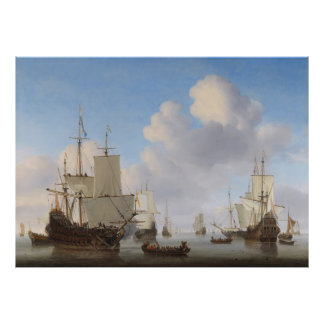 Van de Velde envía en un poster tranquilo de CC036