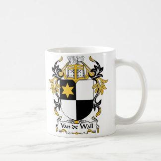 Van de Wall Family Crest Coffee Mug