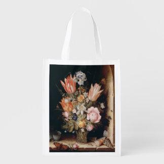 Van den Berghe's Flowers reusable bag