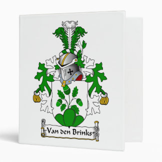 Van den Brinks Family Crest Vinyl Binders