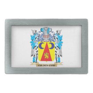 Van-Den-Camp Coat of Arms - Family Crest Rectangular Belt Buckles