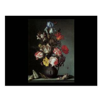 Van Der Ast Flowers in a Vase Post Cards