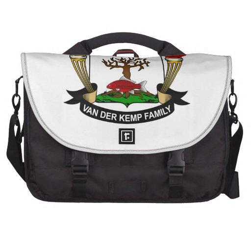 Van der Kemp Family Crest Computer Bag