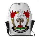 Van der Kemp Family Crest Messenger Bags