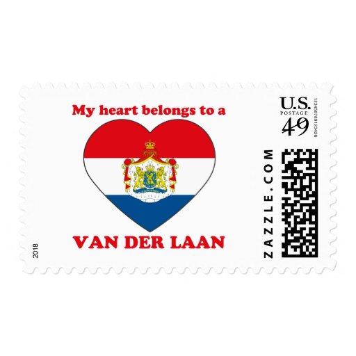 Van Der Laan Postage Stamps