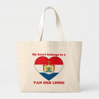 Van Der Linde Bolsa Tela Grande