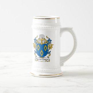 Van der Linden Family Crest Coffee Mugs