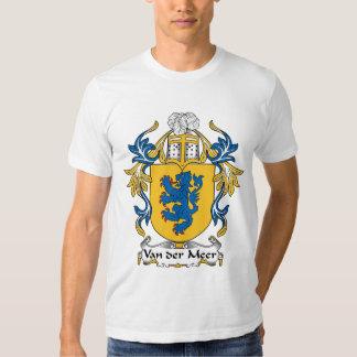Van der Meer Family Crest Tee Shirt