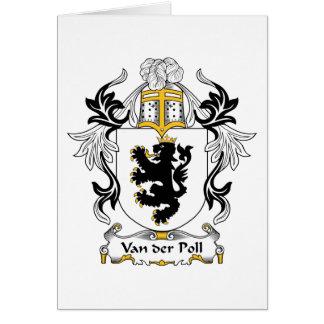 Van der Poll Family Crest Cards