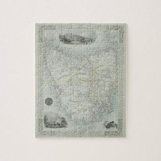 Van Diemen's Island or Tasmania, from a Series of Jigsaw Puzzle