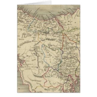 Van Diemen's Island or Tasmania Greeting Card