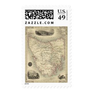 Van Diemen's Island or Tasmania Postage Stamps