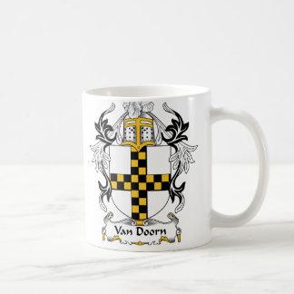 Van Doorn Family Crest Mugs