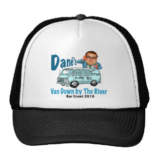 Van Down by the River Crawl Trucker Hat