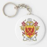 Van Driel Family Crest Keychain