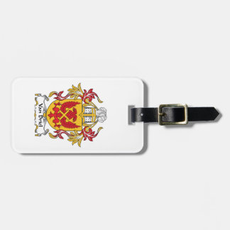 Van Driel Family Crest Tag For Luggage