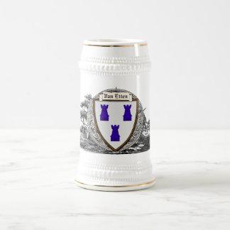 Van Etten Family Arms 18 Oz Beer Stein