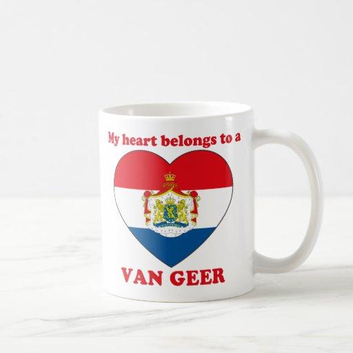 Van Geer Tazas De Café