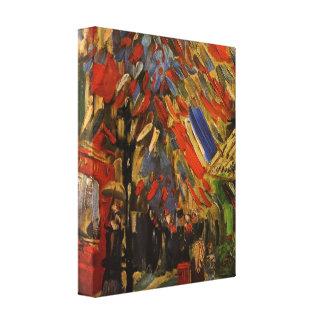 Van Gogh; 14th of July Celebration in Paris Canvas Print