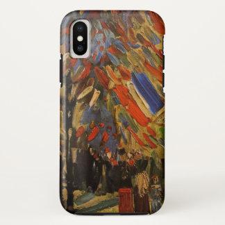 Van Gogh; 14th of July Celebration in Paris iPhone X Case
