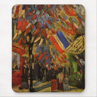 Van Gogh; 14th of July Celebration in Paris Mouse Pad