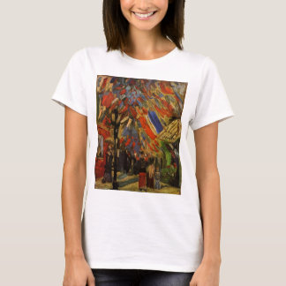 Van Gogh; 14th of July Celebration in Paris T-Shirt