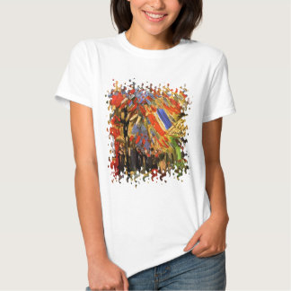 Van Gogh - 14th Of July Celebration In Paris T-Shirt